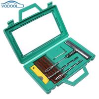 Car Tire Repair Kit Diagnostic Motorcycle Tools Auto Tubeless Tyre Puncture Mending Kits Automobile Tyre Steel