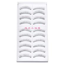 Beauty Girl 10pairs Natural Sparse Cross Eye Lashes Extension Makeup Long False Eyelashes Aug 11