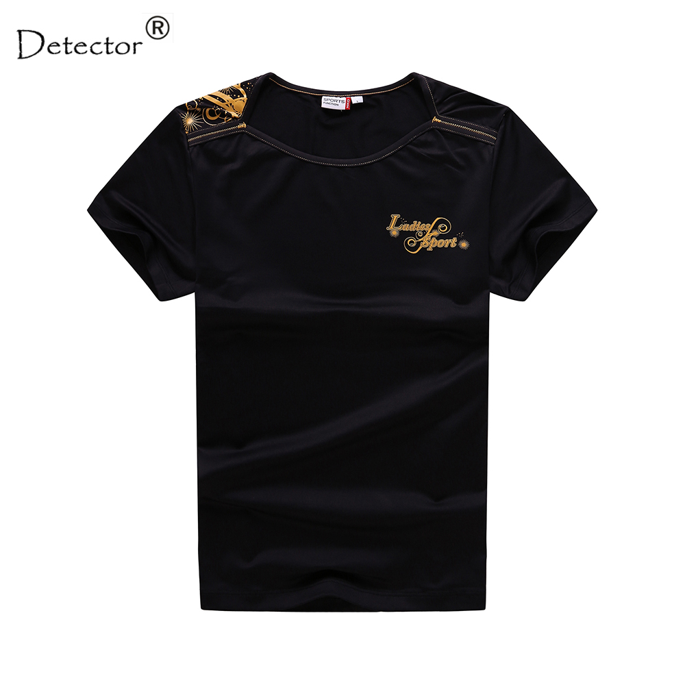 Detector Hot sale Women Short Sleeve Sports Quick Dry Running t shirt - Sportswear and Accessories