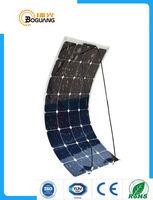 Solarparts 1PCS 100W Flexible Solar Panel 12V Solar Cell Module System RV Car Marine Boat Battery