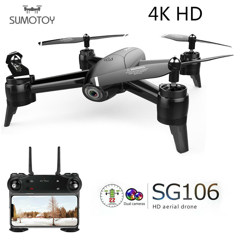 4K SG106 RC Drone with Camera HD 1080P 720P Dual mini helicopter remote control small drone