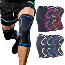 1PCS Knee Support Fitness Running Cycling Braces Elastic Nylon Sport Compression Pad Sleeve for Basketball