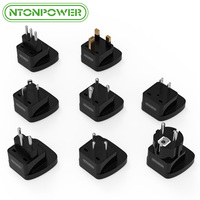 NTONPOWER Mini DC International Power Plug Adapter Universal Outlet Socket Travel Converter For EU UK BR