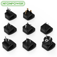 NTONPOWER Mini DC International Power Plug Adapter Universal Outlet Socket Travel Converter For EU UK BR