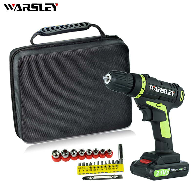 21V Electric Screwdriver Mini Power Tools Lithium Battery Electric Drill Rechargeable Parafusadeira Furadeira Screwdriver