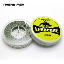 Lead Core Carp Fishing Line 25Lbs 35Lbs 45Lbs 60Lbs 20Meters for Carp Rig Making Tinking Braided Line