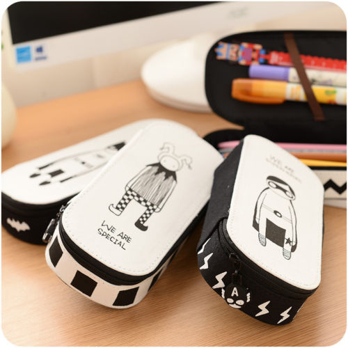 New Large-Capacity Korea Magic Channel Large Capacity Pencil Cases Pen Bags School Stationery Pen Box Pen Case Office Holder large h2h