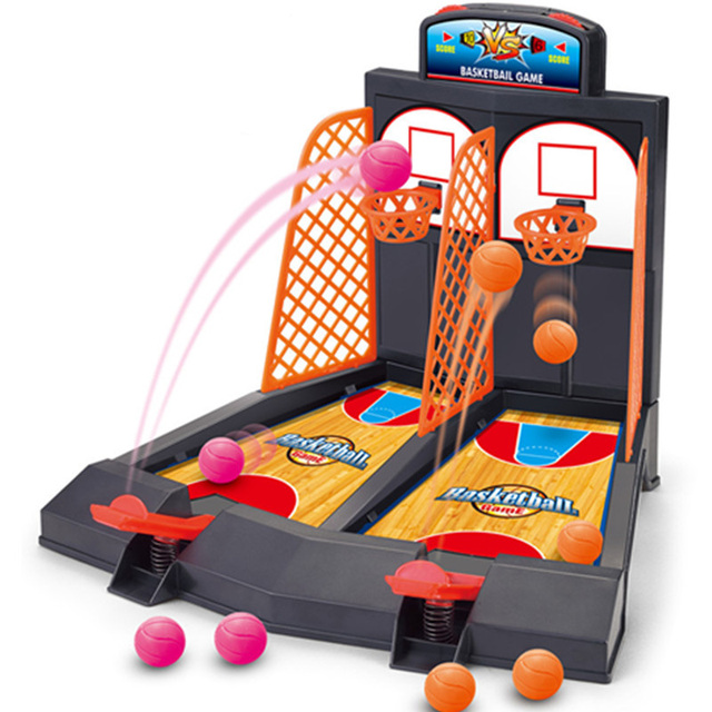 HOT Ball Shoot Board Game Family/Party Children With Parents Body ...
