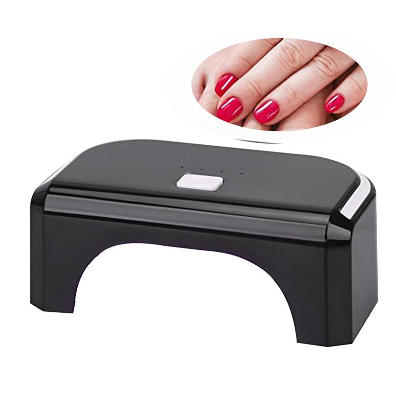 12W LED Lamp-One-button Control-10s 30s 60s 300s with Auto Shutoff-Nail Dryer for Quickly Dry LED Gel Nail Polish AU/US/EU Plug