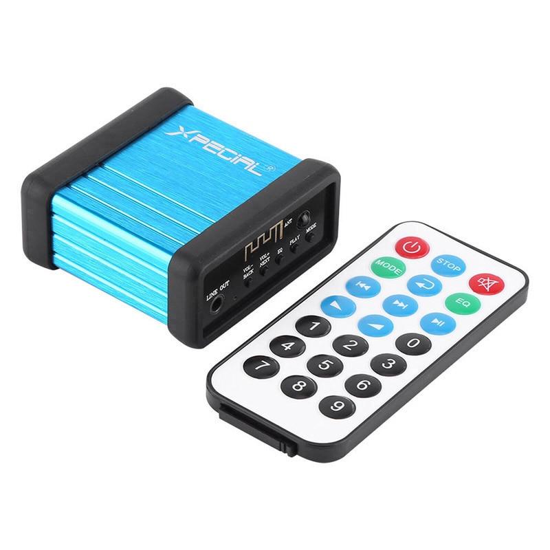 Portable Bluetooth Audio Receiver DAC Car Speaker Amplifier Modify  Wireless Handsfree Headphone