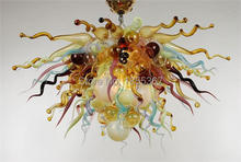 Free Shipping Home Excellent Quality Murano Glass Lighting Chandelier Cheap