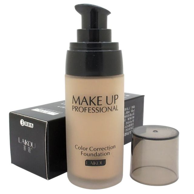Cobertura blanqueadora Fulid base líquida corrector hidratante aceite-control maquillaje impermeable nuevos cosméticos 40ml