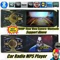 """НОВЫЙ 4 """"TFT HD Автомобильный Радио bluetooth Автомобильный MP5 Поддержка Камеры Заднего Вида Стерео FM MP3 MP4 MP5 Аудио Медиа-w/USB SD MMC Порт 1 дин В-dash"""