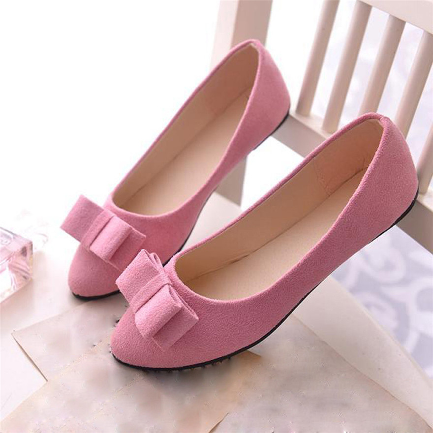 New Fashion Women Ballet Shoes Work Bow Tie Slip Shoes Boat Comfortable Shoes chaussure femme talon schoenen vrouw women shoes scarpe donna elastic boots botines mujer sapato feminino round toe chaussure femme schoenen vrouw over knee boots