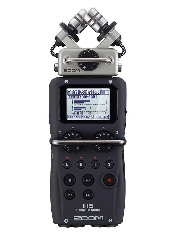 bilder für Heißer auf lager ZOOM H5 professionelle handheld digital recorder Vier-Track-Tragbare Recorder H4N verbesserte version Aufnahme stift