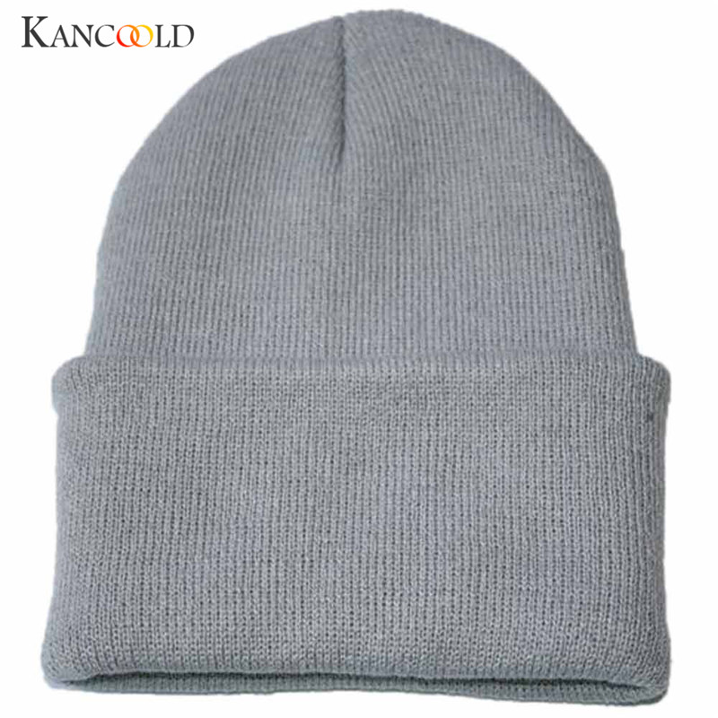 17 Colors Unisex Turban Beanie Warm women Hats Knitted Snow Ski Knit Hat Knitting Beanies men male Hip Hop Cap for femme OC25A
