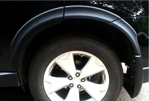 High Quality Set Black Fender Flares Wheel Arch 10pcs For