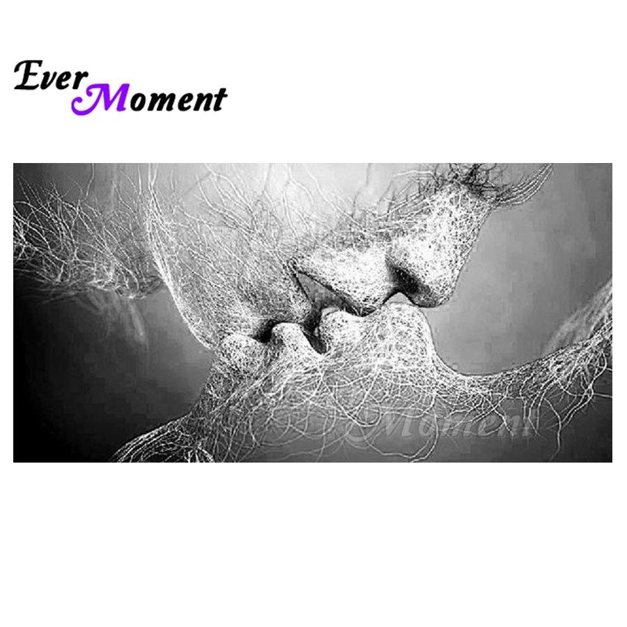 Ever Moment Diamond Painting Kissing Mosaic Full Square Picture Of Rhinestone Diamond Embroidery 5D DIY Cross Stitch S2F1621Ever Moment Diamond Painting Kissing Mosaic Full Square Picture Of Rhinestone Diamond Embroidery 5D DIY Cross Stitch S2F1621