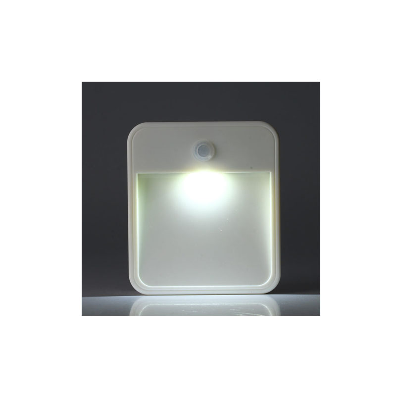 LED Square body Motion Sensor Induction Round Lamp Infrared Motion Sensor Night Light for Bookcase Wardrobe Shoes Cabinet Home