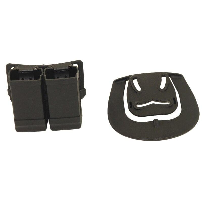 Cartucho universal para glock, tira suporte duplo
