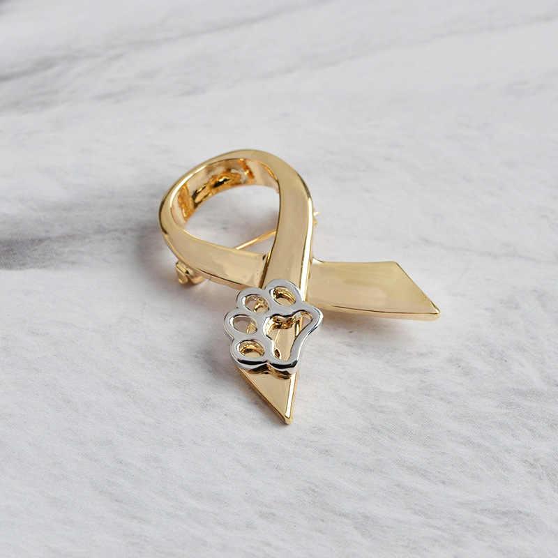 2019 di trasporto del NUOVO Creativo spille Dog Claw Dello Smalto Bow tie pendenti pins botton t-shirt collare spilla sacchetto Dei Monili accessori per cappelli regali