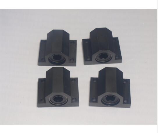 Discreet 4 Pcs Lulzbot Taz 3d Printer Upgrade Metalen Aluminium Bed Frame Y-as Tafel Bed Frame Bearing Holder Set Gratis Verzending