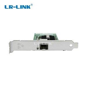 Image 2 - LR LINK 9701EF SFP Gigabit Fiber Optical Ethernet Network Card 1000Mb PCI Express Lan Card Server Adapter INTEL 82546 Nic