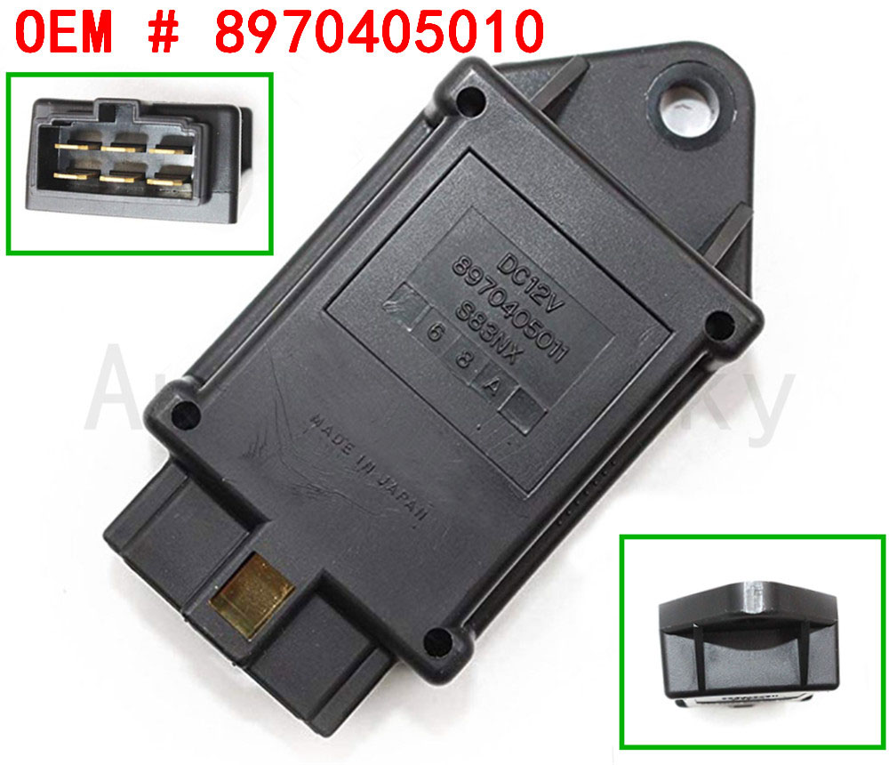 8970405011 For Excavator EX35U EX27U EX50U ISUZU C240 Engine 8970405010 New Time Relay for ISUZU HYSTER