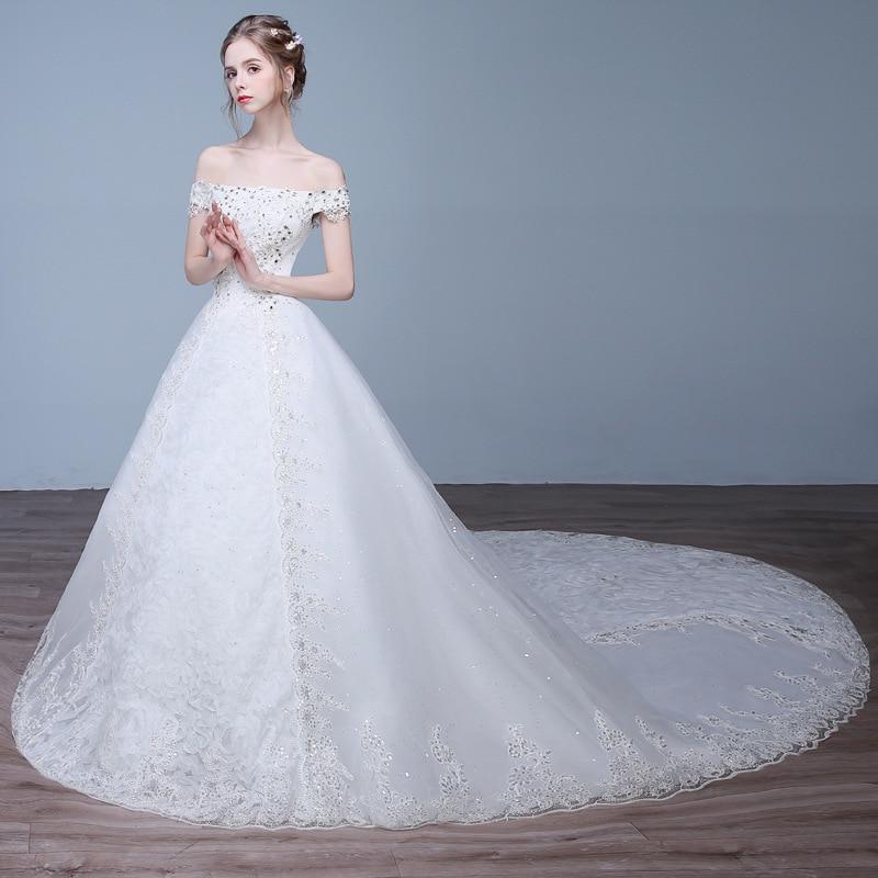 Vivian Wedding Gown: Vivian's Bridal 2018 Summer Fashion Princess Wedding Dress