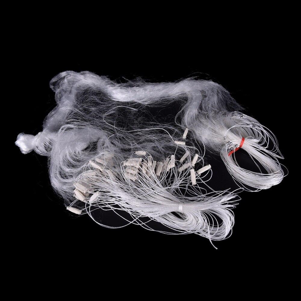1 pcs 25 m 3 Couches Monofilament Gill De Pêche Net Float Piège À Poissons Rede De Pesca de Pêche En Nylon Net accessoire Outils