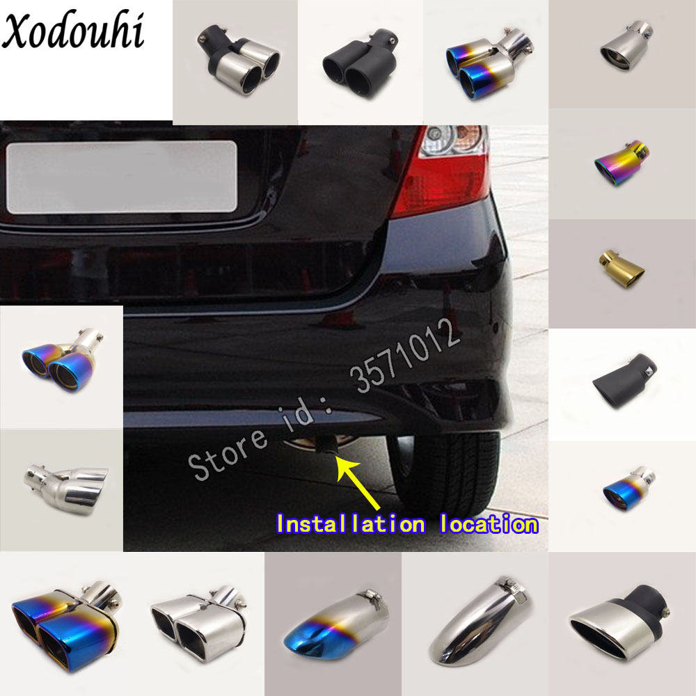 For Honda Fit jazz 2004 2005 2006 2007 car body cover muffler font b exterior b