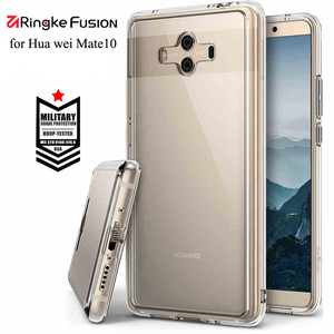 Image 3 - Ringke Fusion Voor Huawei Mate 10 Case Clear Pc Back Cover Soft Tpu Frame Hybrid