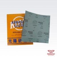 2016 10pcs/lot KOYO Polishing Cloth Sheet SHA  Nah Abrasive Cloth For Polishing
