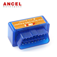 Free Shipping ELM327 Mini ELM327 V2 1 Bluetooth Interface Auto Scanner OBD Diagnostic Tool Works On