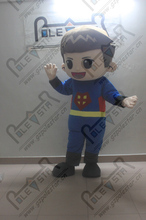 super man costumes for fun high quality plush ,fan and helmet cool kid costume superman mascot costumes