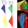 2015 caliente nueva cambian de color de la bufanda de seda para magic trick por mr. magic broma apoyos herramientas juguetes de regalo al azar