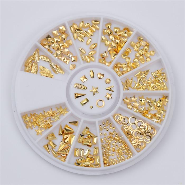 Смешанный цвет камень-хамелион Стразы для ногтей маленькие Необычные бусины Маникюр 3D дизайн ногтей украшения в колесиках аксессуары