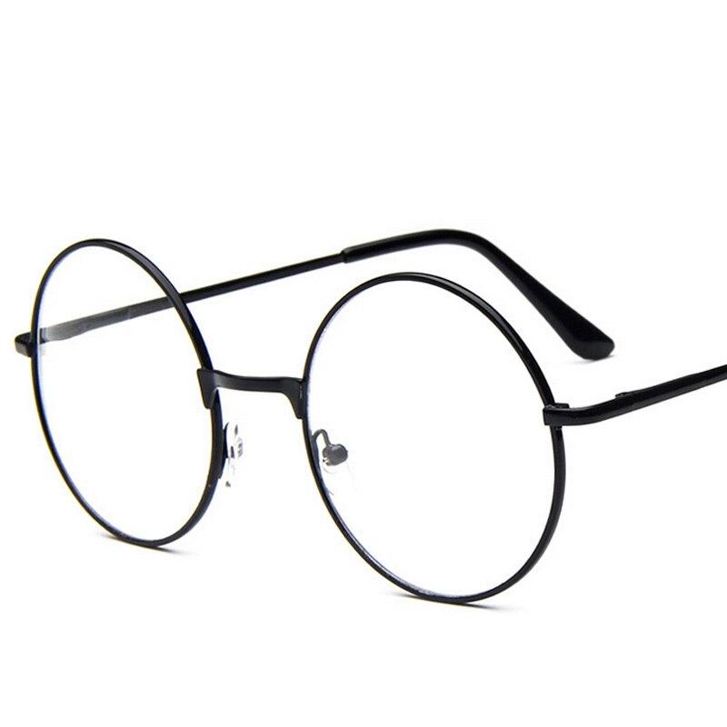 2016 new fashion harajuku women round frame glasses metal decorative harry potter vintage eyeglasses prescrition eyewear