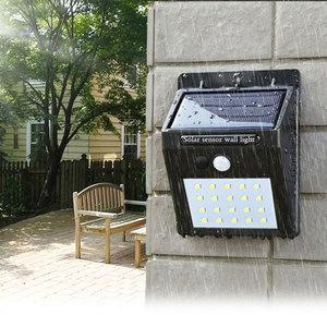 Image 1 - LED flashlight outdoor sensor wall waterproof solar garden street light sensor automatically lamp motion public road Night blubs