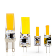 LED G4 G9 Lamp Bulb AC/DC Dimming 12V 220V 3W 6W COB SMD LED Lighting Lights replace Halogen Spotlight Chandelier
