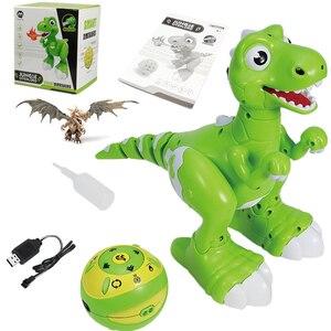 Image 5 - RC Dinosaurier Roboter Spielzeug Geste Sensor Interaktive Fernbedienung Robotic Spary Dinosaurier Smart Elektronische Spielzeug Radio Gesteuert