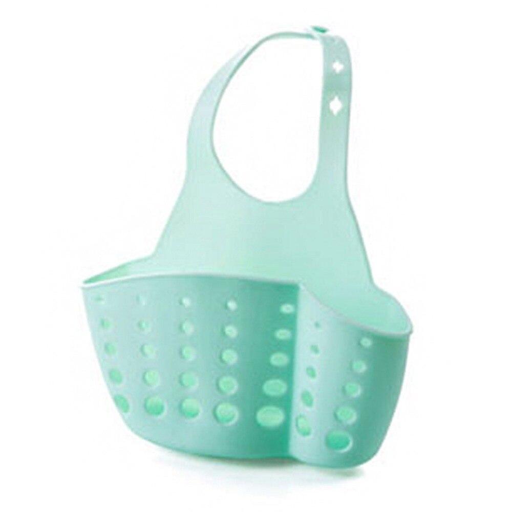 Kitchen Portable Hanging Drain Bag Basket Bath Storage Gadget Tools ...