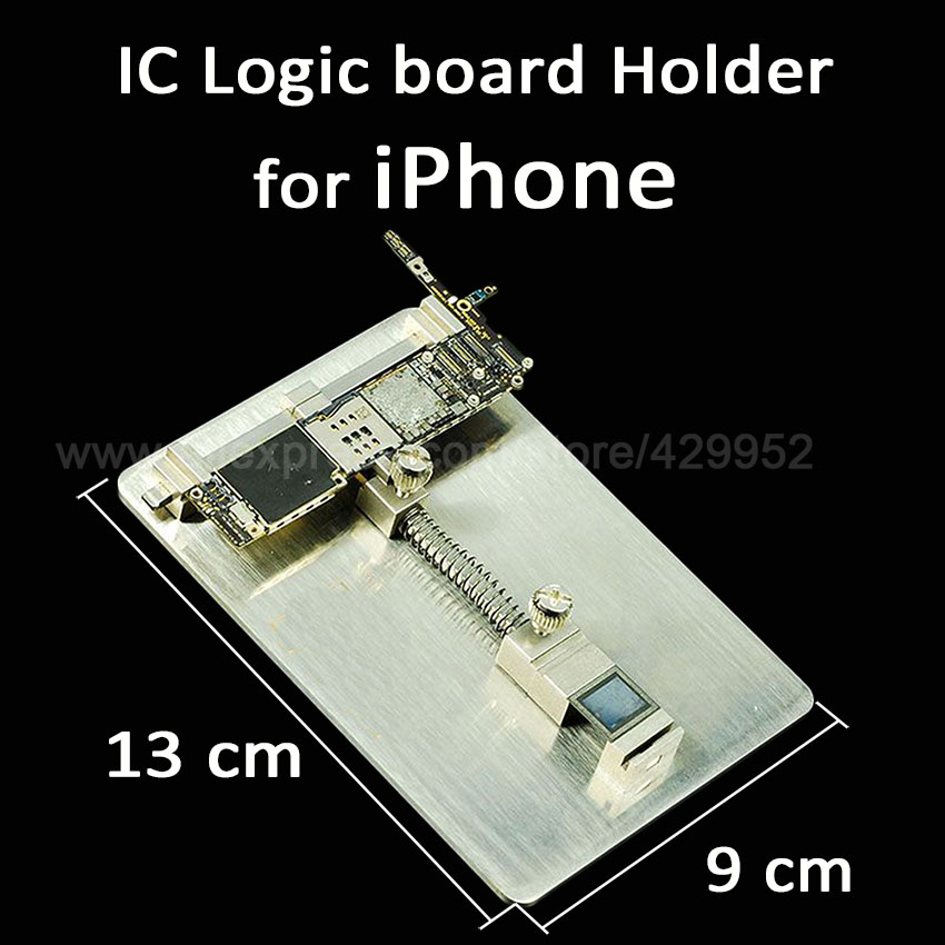 2017 Latest Logic Board NAND Chip Clamps High Temperature For Motherboard Fixture PCB Holder For iPhone Fix Repair Mold Tool used for toshiba 281c 351c 451c copier motherboard logic board interface board lgc board