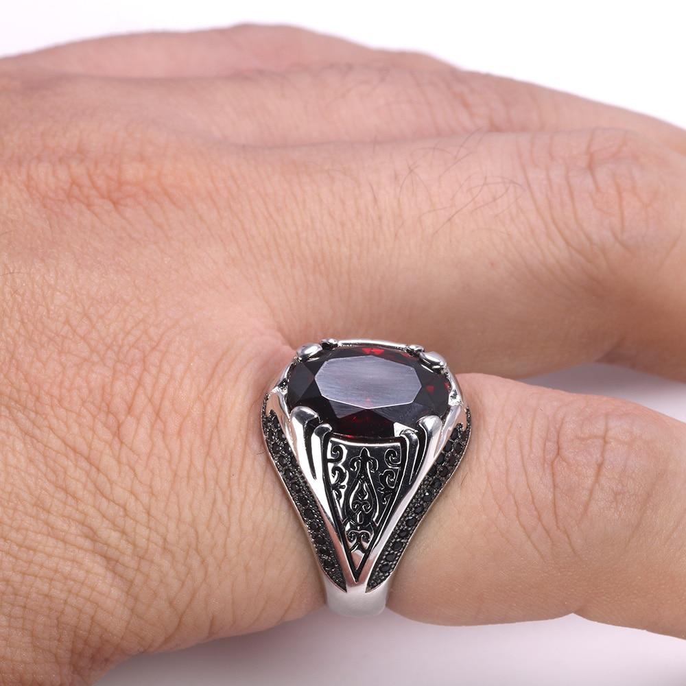 HTB1cHVDazDuK1RjSszdq6xGLpXap Luxury Turkish Jewellery For Men With Zircon Stone