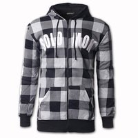 2018 New Fashion Zipper Hoodie Jacket Men S Sweatshirt Casual Plaid Hoodie Men Long Sleeves Hoodies