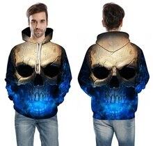 Skull Head Sweatshirt 3D Hoodie