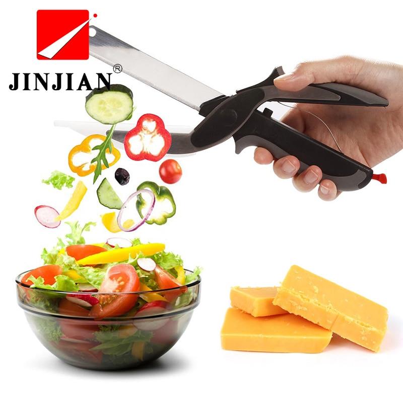 JINJIAN Gemüse Cutter Sicherheits Kochen Werkzeuge Multi Gemüse Slicer & Reibe Küche Slicer Kartoffel Karotten Würfel Salat Maker