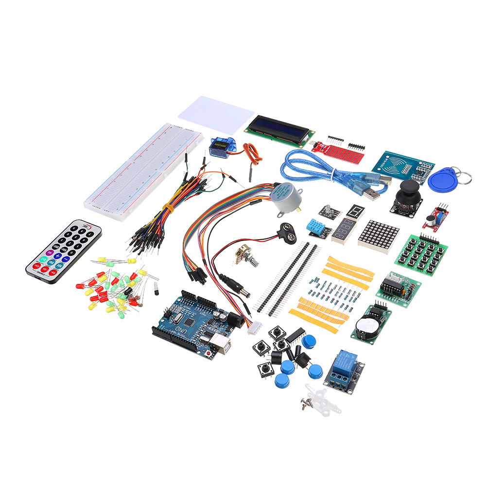 NEW RFID Starter Kits For Arduino R3 Upgraded Version Learning Suite Module Board With Retail BoxNEW RFID Starter Kits For Arduino R3 Upgraded Version Learning Suite Module Board With Retail Box