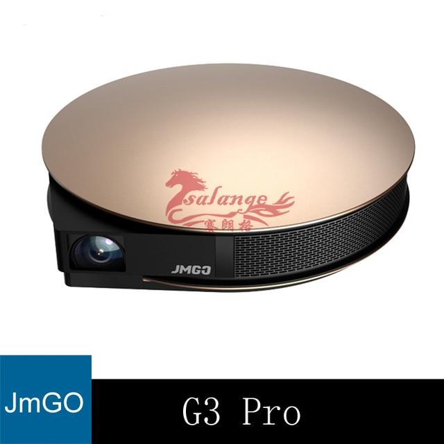 Pre-pedido original jmgo g3 pro teatro inteligente mini proyector completo HD Android Apoyo 4 K 300 pulgadas Hi-Fi Bluetooth WIFI USB HDMI