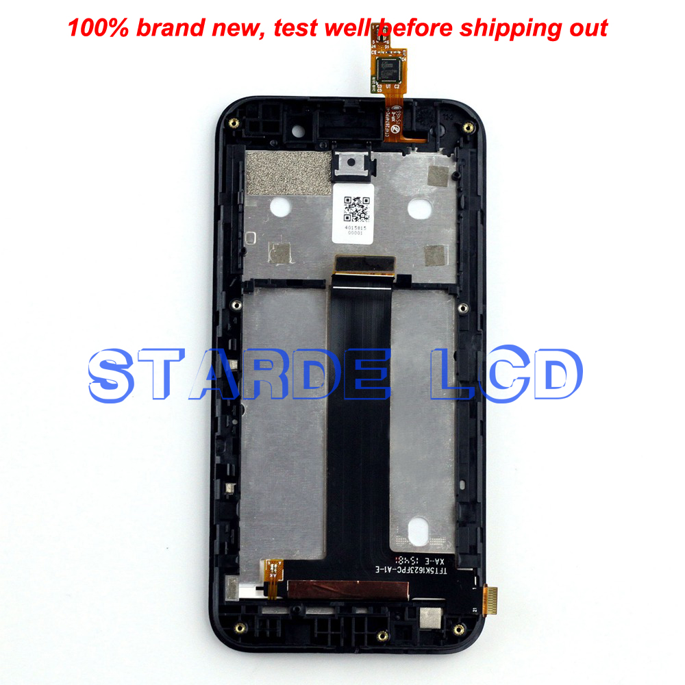 Starde Replacement 4 5 39 39 LCD for Asus ZenFone Go ZB452KG X014D LCD Display Touch Screen Digitizer Assembly with Frame in Mobile Phone LCD Screens from Cellphones amp Telecommunications